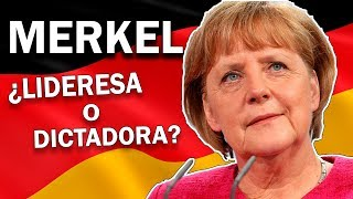 Angela Merkel es la mujer más poderosa del mundo a cargo de la naci...