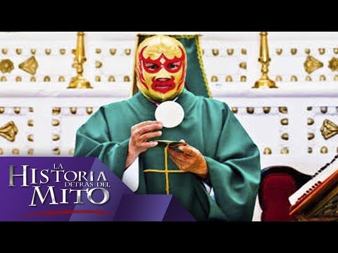 Meet Fray Tormenta, the Wrestling Priest Who Inspired Nacho Libre