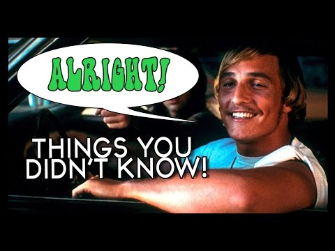 7 Things You Probably Didn't Know About Dazed and Confused!