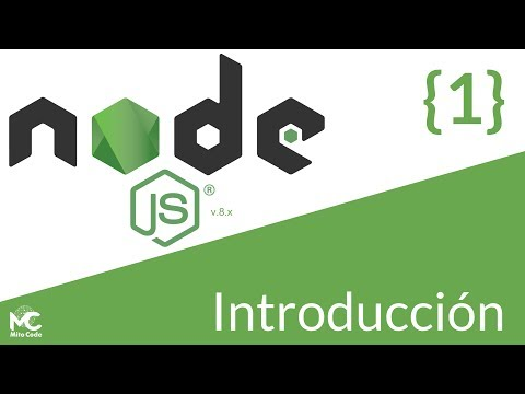 Node.js Tutorial - 1 Introducción