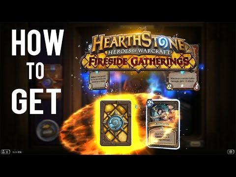 [ Hearthstone ] How To Get The Fireside Card Back