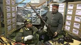 Оружие первой мировой войны - с выставки Клинок