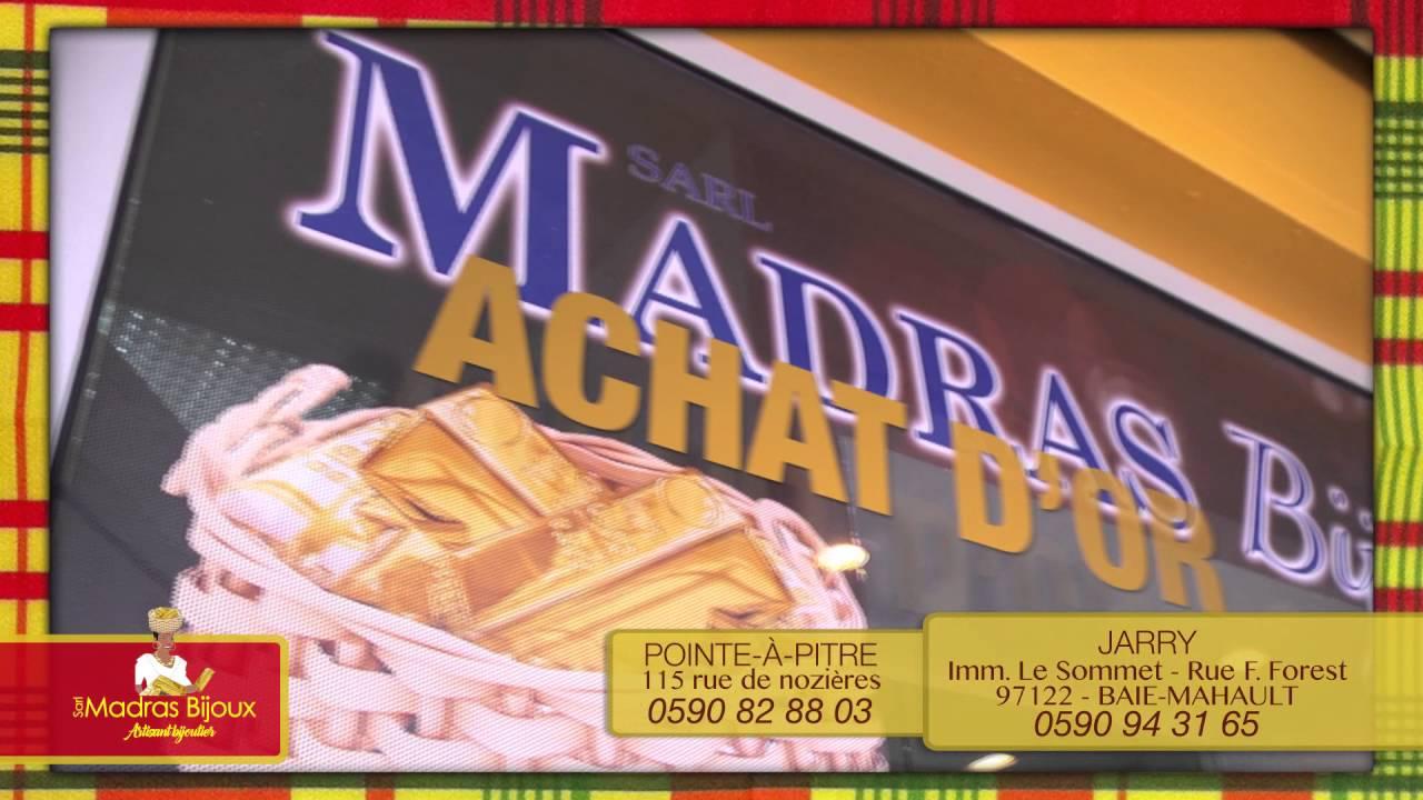 Votre magasin Madras Bijoux en Guadeloupe