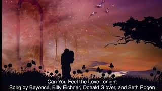 Gambar cover Can You Feel the Love Tonight Song by Beyoncé, Billy Eichner, Donald Glover, and Seth Rogen