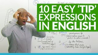 """10 """"TIP"""" Expressions in English"""