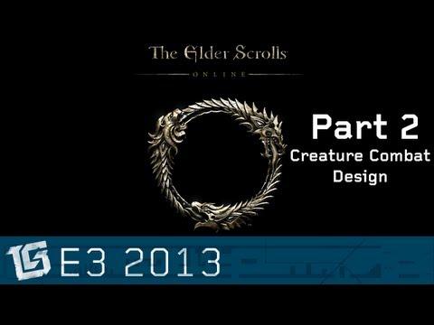 Elder Scrolls Online - Creature Combat Design - TGS at E3 2013