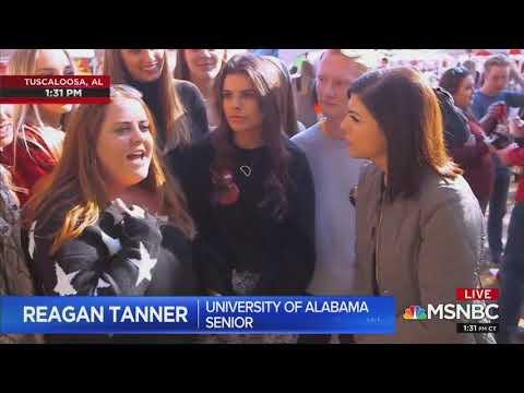 Garret Lewis - Trump Supporting Alabama Students Shock MSNBC Reporter