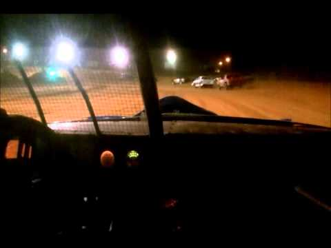 8/3/2013 Southern Raceway Street Stock Feature From inside Jessi's car
