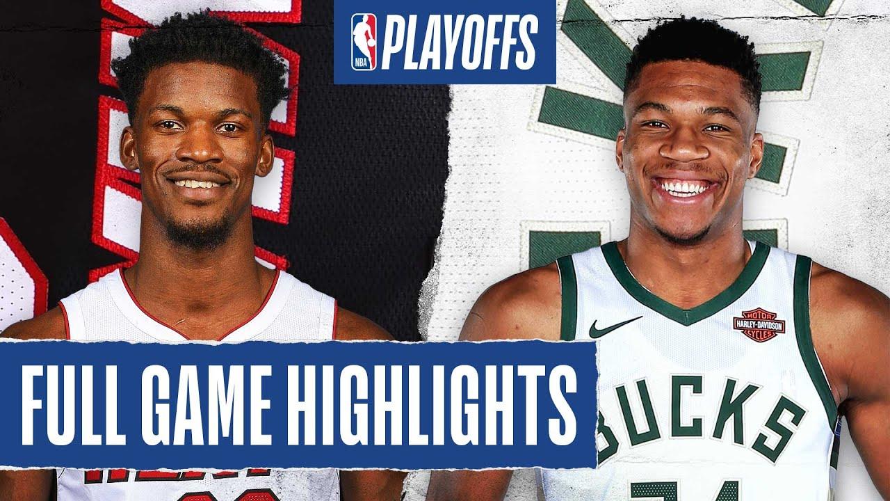 Heat vs. Bucks - Game Recap - September 1, 2020 - ESPN
