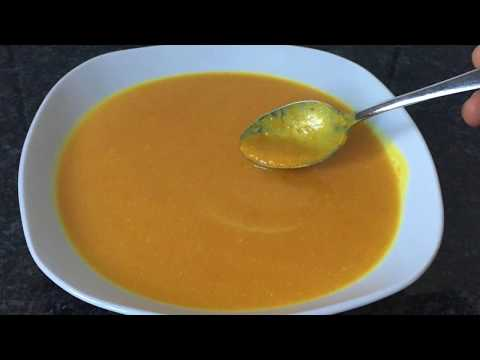 Coconut Cream Pumpkin Soup, With Ginger And Turmeric. DELICIOUS!
