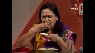 Rasoi Ni Maharani - Halwa With Creamy Caramel and Almond Pistacho Tart