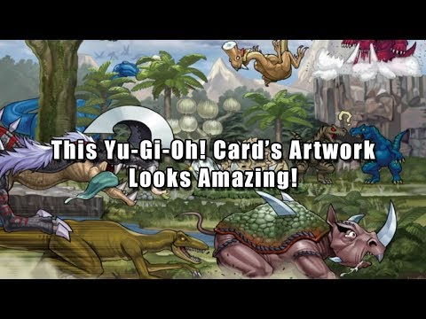 This Yu-Gi-Oh! Card's Artwork is Amazing (80,000 Subscribers!)