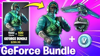HOW TO GET GeForce REFLEX BUNDLE! - NEW REFLEX SKIN (Fortnite Battle Royale)