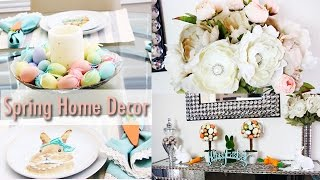 Easter & Spring Decor | Home Tour 2017