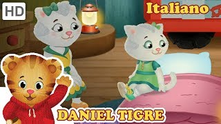 Daniel Tiger in Italiano 🌙 Buonanotte, Migliori Amici! | Video per Bambini