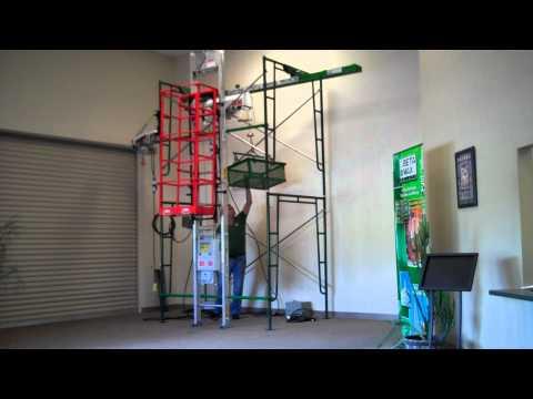 Beta Max Hoist High Speed Wire Rope Hoist Showroom - YouTube