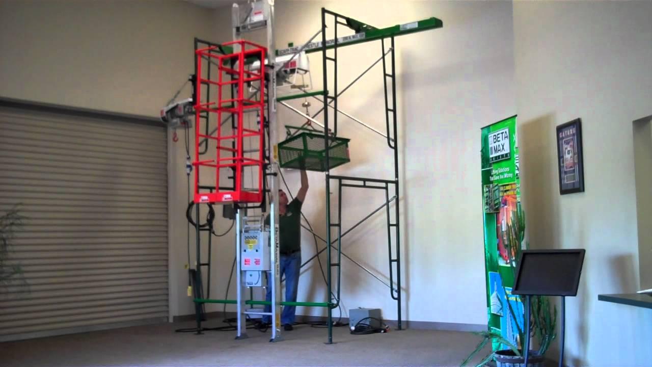 Beta Max Hoist High Speed Wire Rope Hoist Showroom