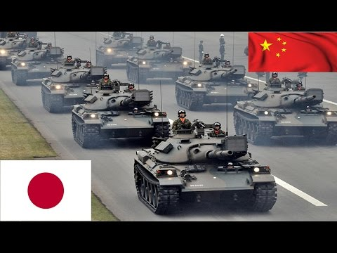 China VS Japan Military Strength Comparison 2016 HD