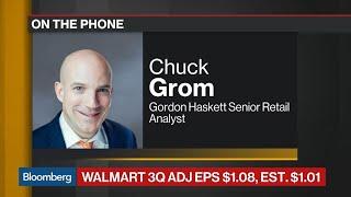 Walmart Boosts Full-Year Outlook as 3Q Sales Beat Estimates