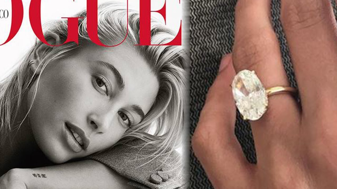 Hailey Baldwin Gives CLOSE-UP of HUGE Engagement Ring In ...