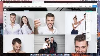 Building an Wix Online Portfolio (2018)