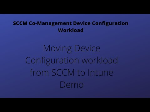 Device Configuration workload