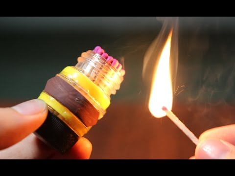 4 Creative things with Matches you may Not Know