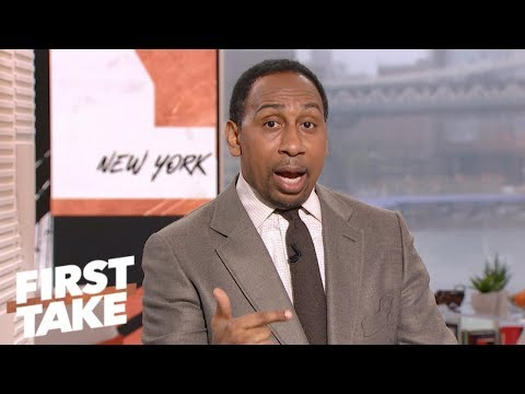 Stephen A.: Leave Jameis Winston on bench if 'FitzMagic' continues | First Take | ESPN