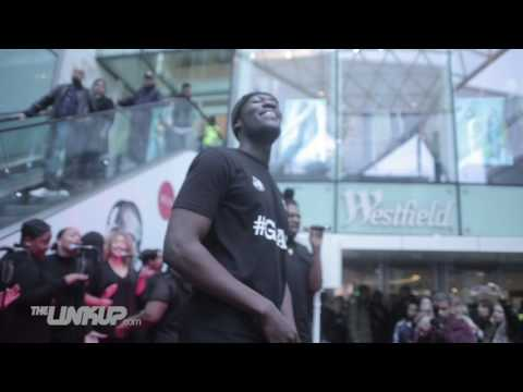 Stormzy performs live outside Westfield White City | Link Up TV