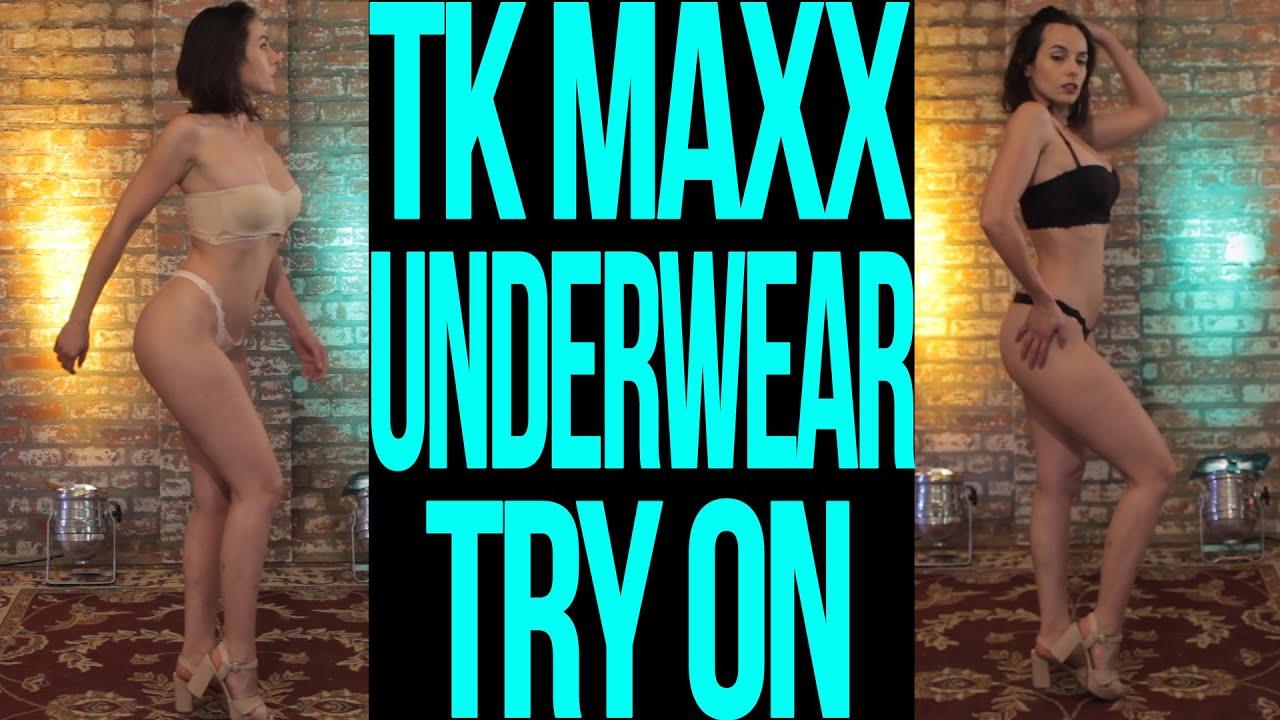 SOPHIE'S STAGE - TX MAXX UNDERWEAR TRY ON HAUL