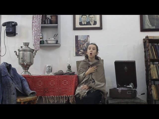 Изображение предпросмотра прочтения – НадеждаДедяева читает произведение «Девочка из блокадного Ленинграда» А.Г.Гуркова