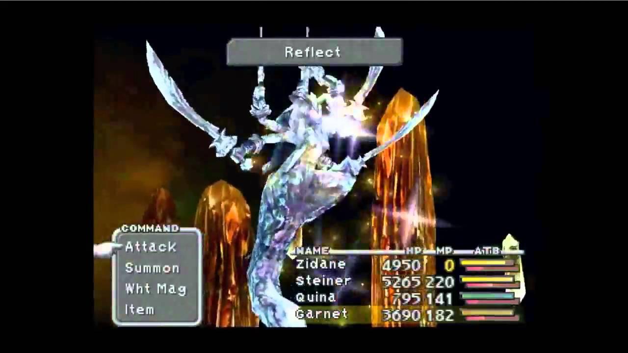 Final Fantasy IX - Disc 4 - Blue Magic Hunt - Mustard Bomb