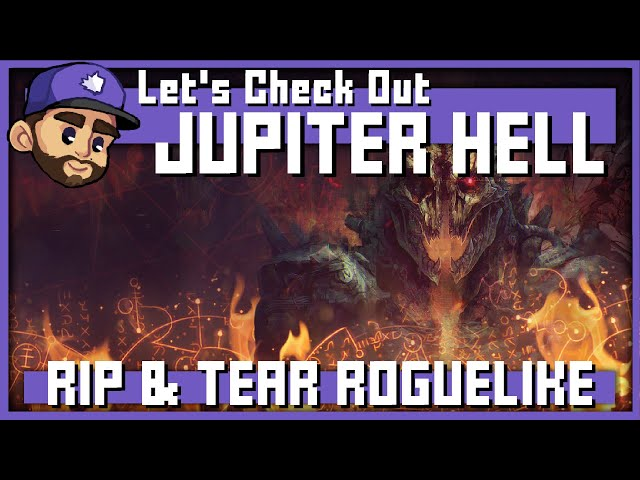 RIP & TEAR ROGUELIKE   Let's Check Out: JUPITER HELL