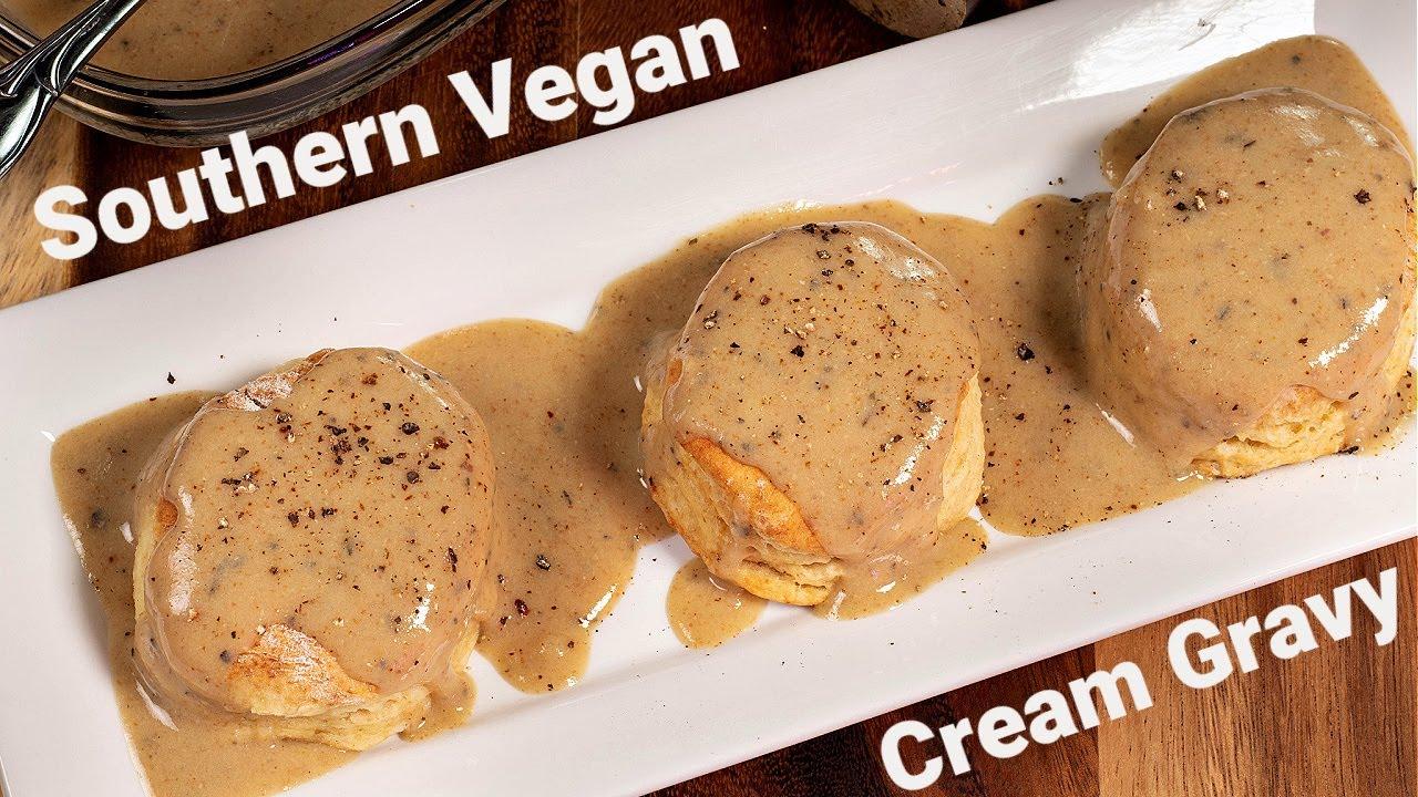 Southern Vegan Cream Gravy