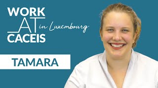WORK AT CACEIS in Luxembourg! Meet Tamara, Forex and Treasury Officer
