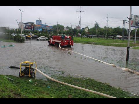 Хабаровск стремительно уходит под воду, 16 августа 2019
