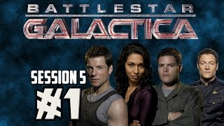 Board Game Night #5: Battlestar Galactica - Part 1