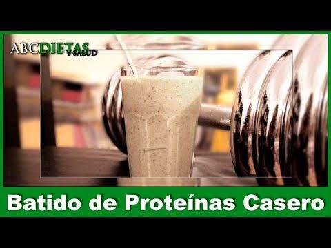 BATIDO CASERO DE PROTEINA Y FIBRA PARA ADELGAZAR