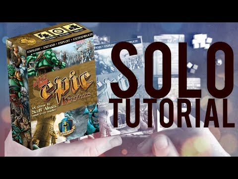 How to Play (Ultra) Tiny Epic Kingdoms Solo