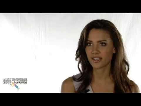 MISS AUSTRALIA UNIVERSE 2009 INTERVIEW