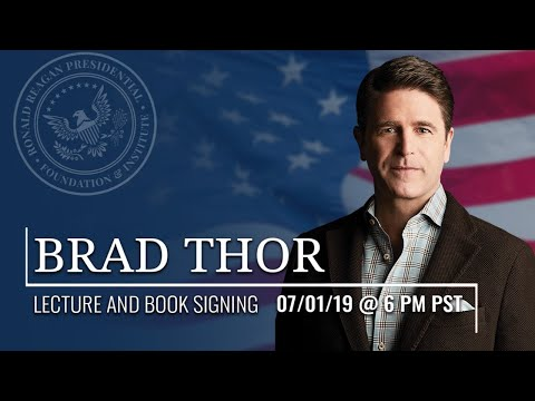 CONVERSATION AND BOOK SIGNING WITH BRAD THOR