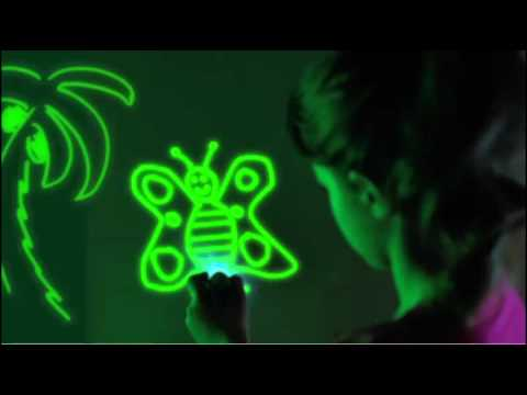 sc 1 st  YouTube & Glow Crazy Doodle Dome - YouTube