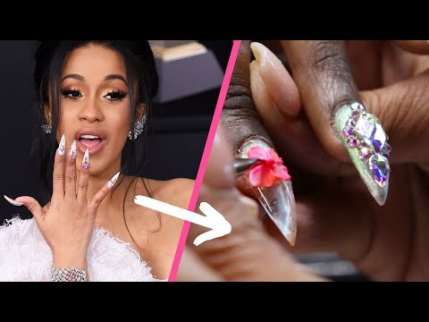 Cardi B's Nail Artist Did Our Nails