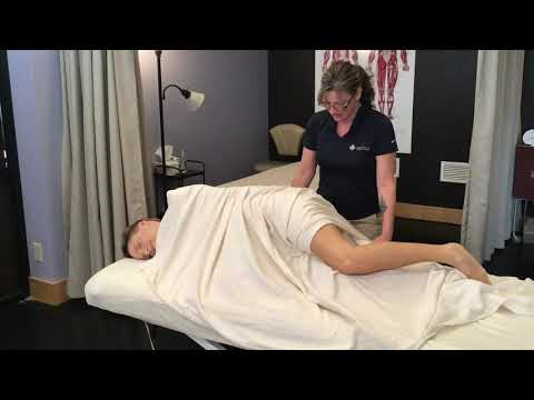 Side-Lying Draping With Cindy Williams In Massage & Bodywork Magazine
