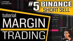 📌Binance SHORT TRADE Tutorial | Binance Margin Trading FULL Tutorial | Margin Trading Beginners