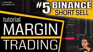 📌Binance SHORT TRADE Tutorial | Binance Margin Trading FULL Tutorial | Margin Trading Beginners