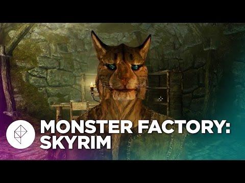 Monster Factory: Exploring Skyrim with Garfield