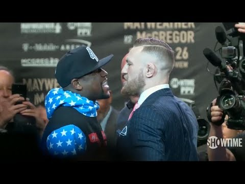 Thumbnail: Mayweather vs McGregor World Tour: Los Angeles Faceoff