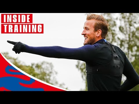 England Prepare for Colombia!   Inside Training   World Cup 2018