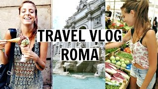 Doing Touristy stuff In Rome! Italy Travel Vlog